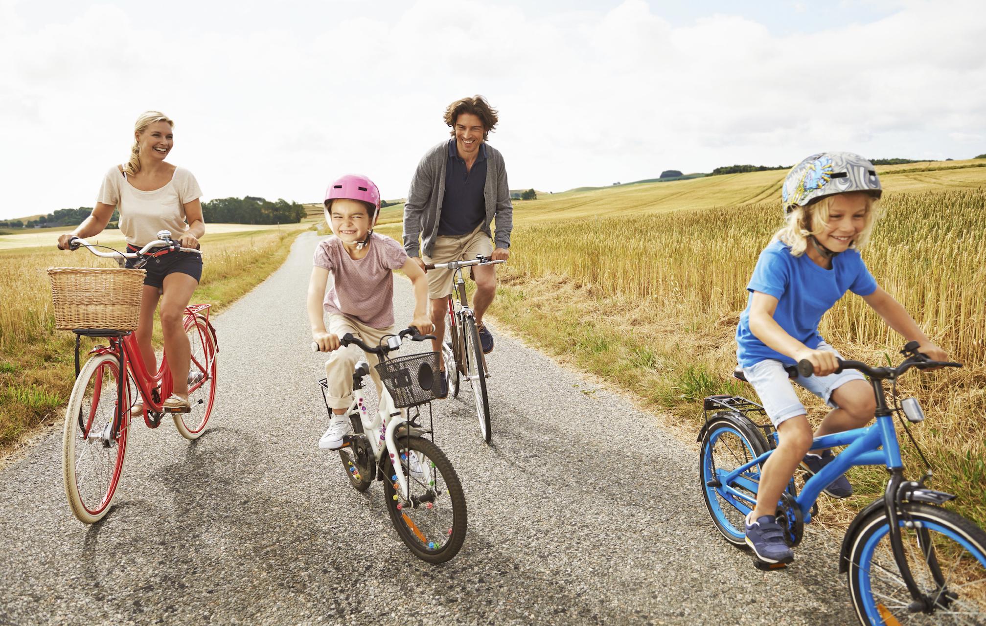 Družinsko kolesarjenje Maribor