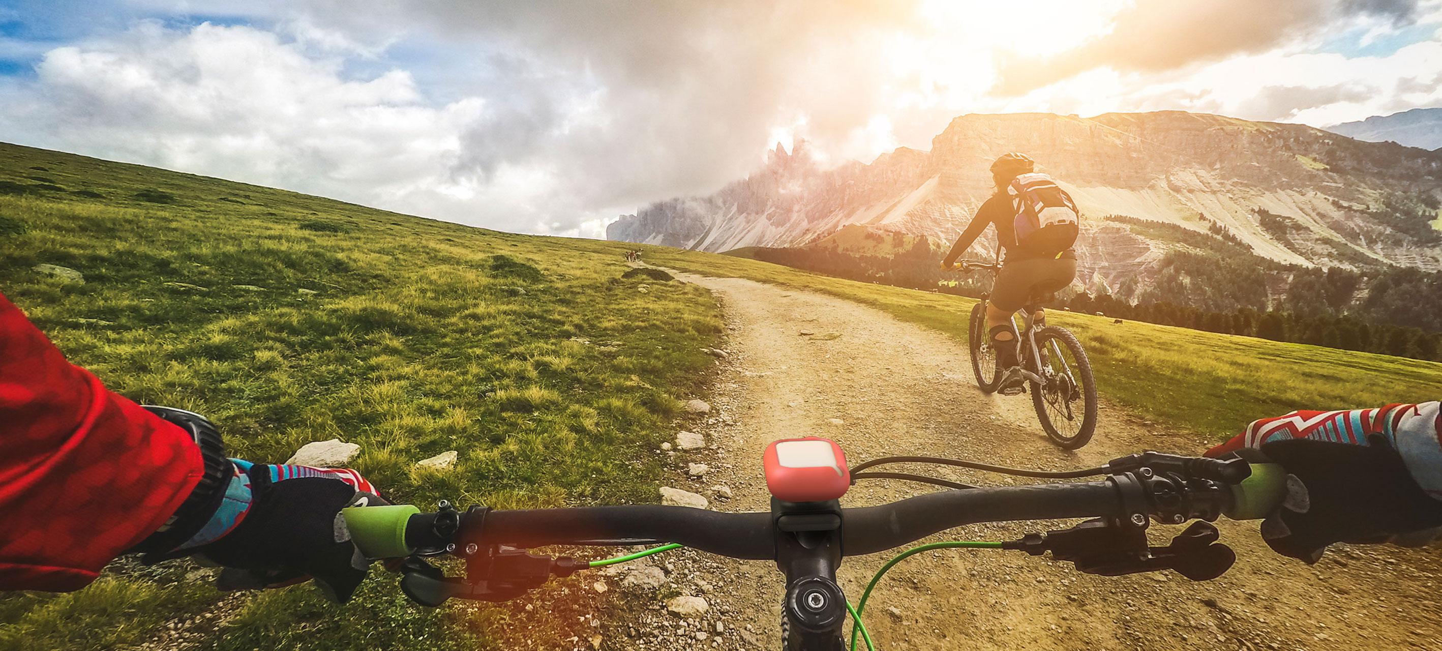 Treking vožnja s kolesom